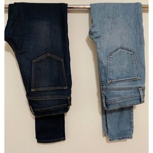 2 Gap jeans for discounted price.